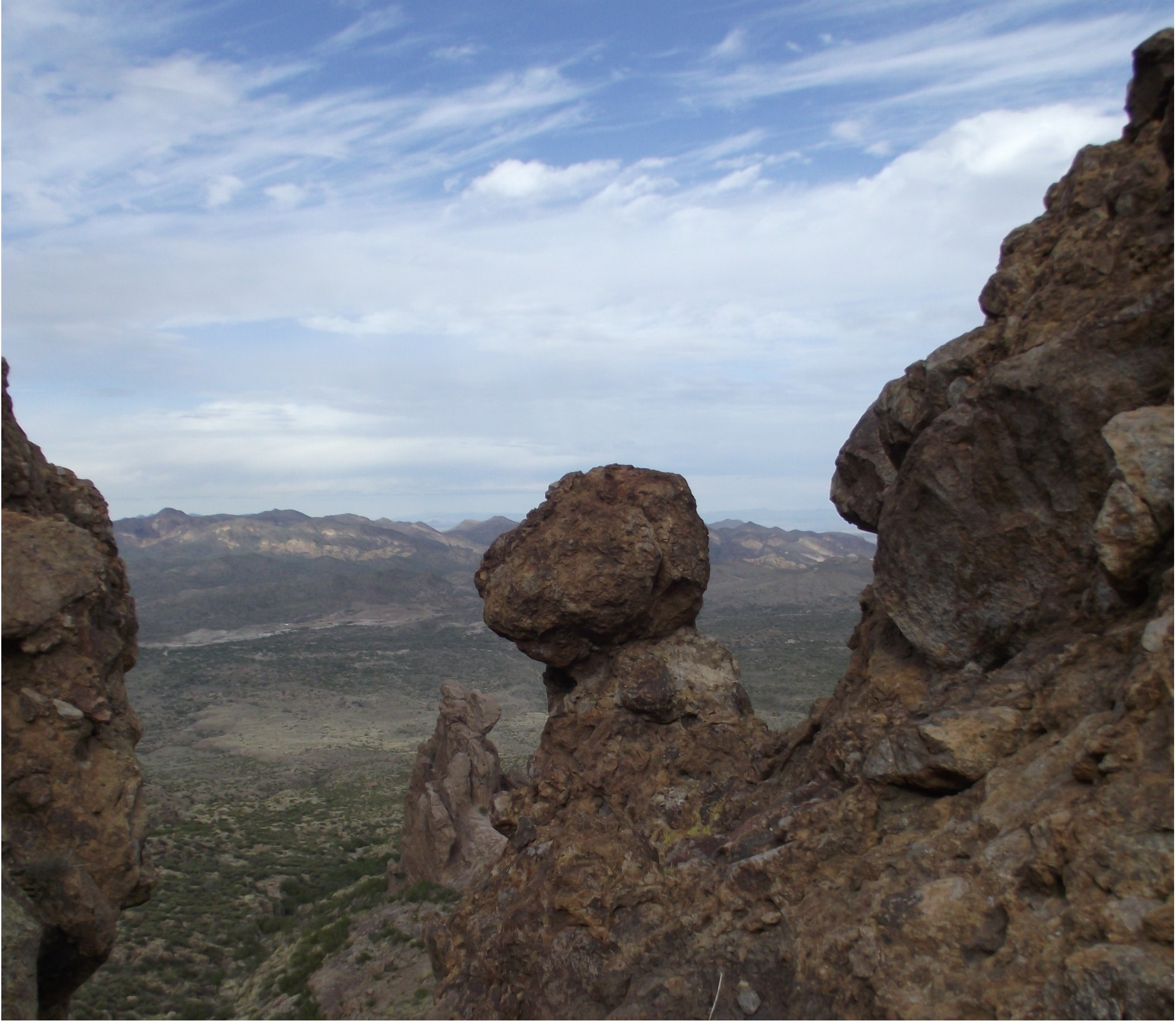 The Superstitions near Lost Dutchman. Photo by Russell S. Braman